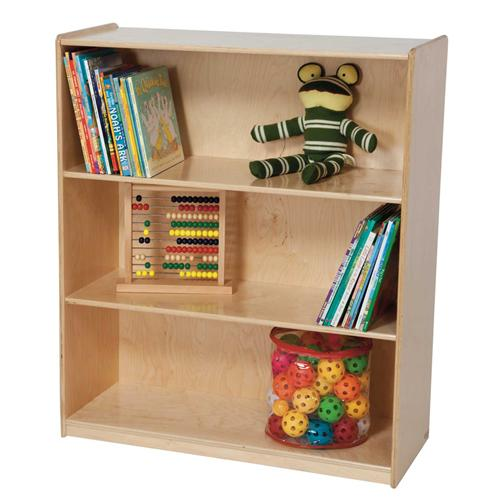 "3-Shelf Bookshelf, 42-7/16""H"