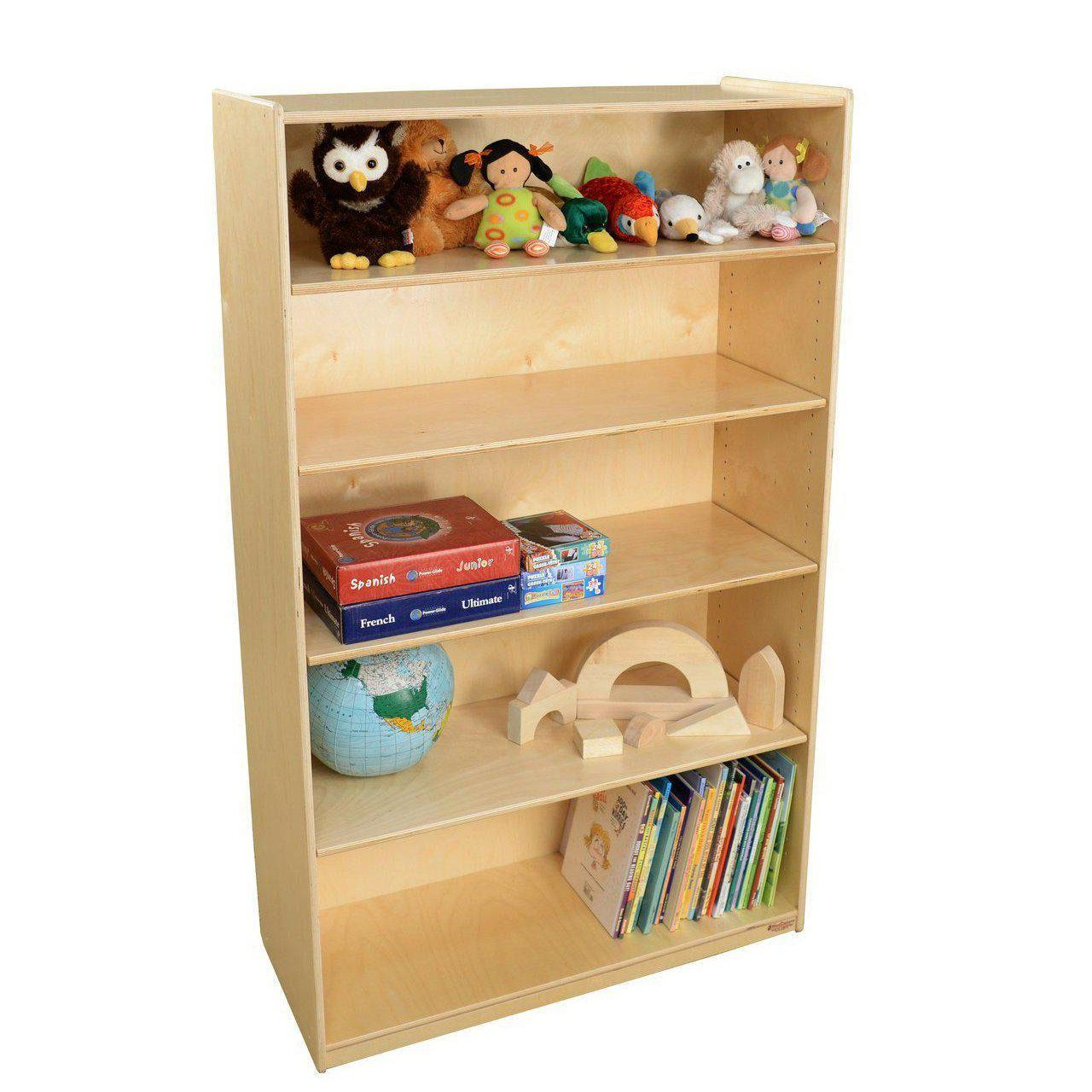 "5-Shelf Bookshelf, 59-1/2""H"