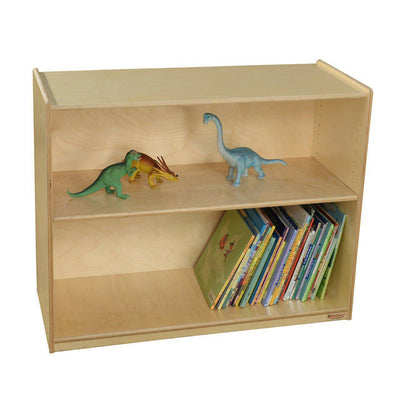 "Wood Designs Bookshelf with Adjustable Shelves, 29-1/16""H-Pre-School Furniture-"