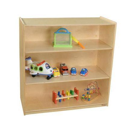 "Wood Designs Bookshelf with Adjustable Shelves, 36-3/4""H-Pre-School Furniture-"