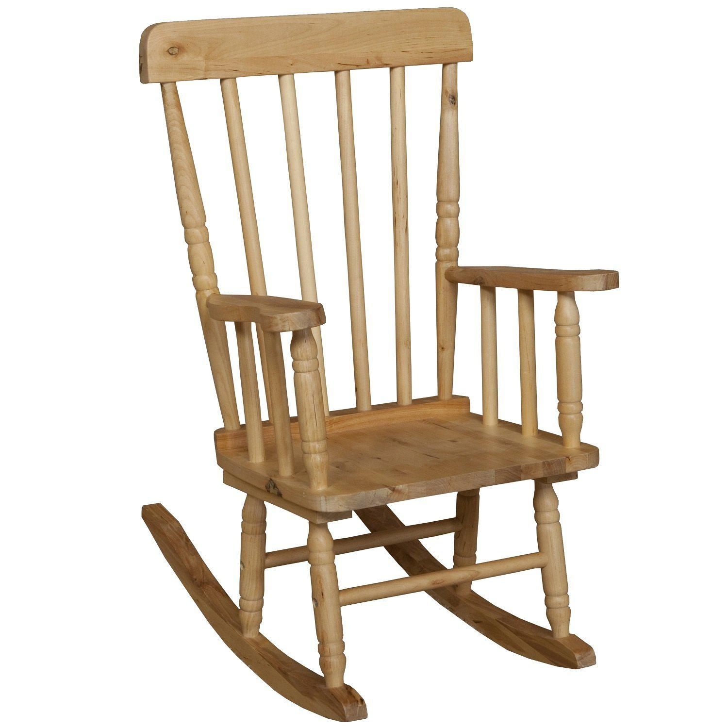 "Wood Designs Children's Rocker 10""H Seat"