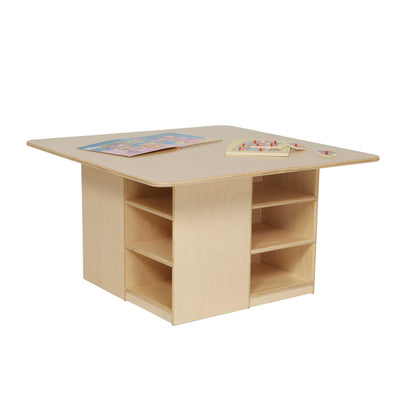 Cubby Table without Trays