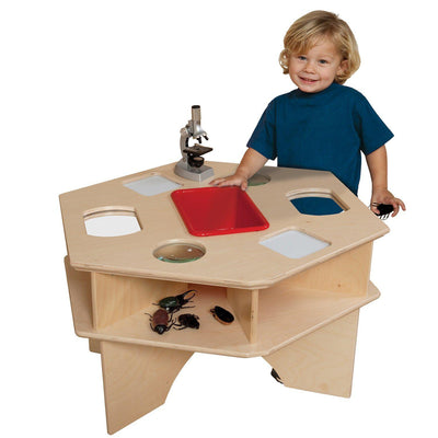 Wood Designs Deluxe Science Activity Table-Pre-School Furniture-Red-