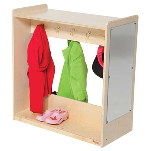 Wood Designs Dress-Up Center with Mirror