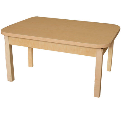 "Wood Designs High Pressure Laminate Activity Tables-Tables-24"" x 48"" Rectangle-14"" Fixed-"