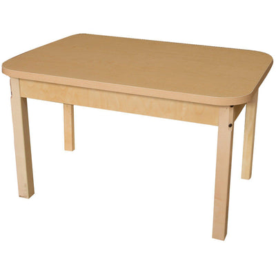 "Wood Designs High Pressure Laminate Activity Tables-Tables-24"" x 48"" Rectangle-20"" Fixed-"