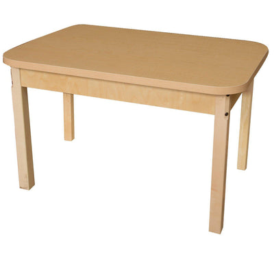 "Wood Designs High Pressure Laminate Activity Tables-Tables-24"" x 48"" Rectangle-22"" Fixed-"