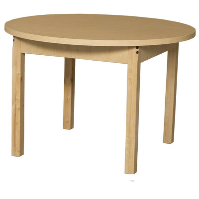 "Wood Designs High Pressure Laminate Activity Tables-Tables-36"" Round-16"" Fixed-"