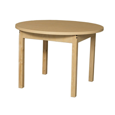 "Wood Designs High Pressure Laminate Activity Tables-Tables-36"" Round-18"" Fixed-"