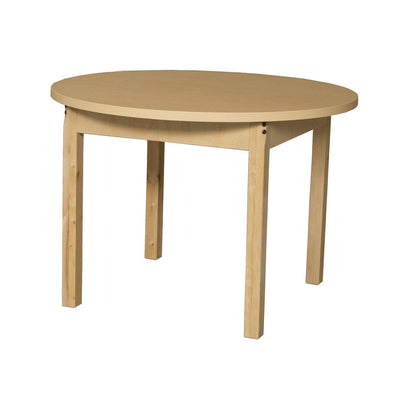 "Wood Designs High Pressure Laminate Activity Tables-Tables-36"" Round-22"" Fixed-"