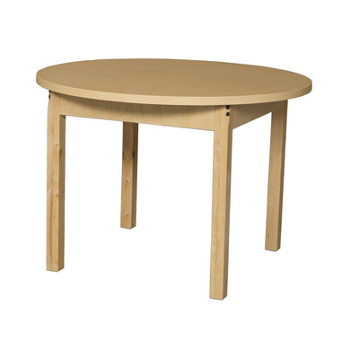 "Wood Designs High Pressure Laminate Activity Tables-Tables-36"" Round-24"" Fixed-"