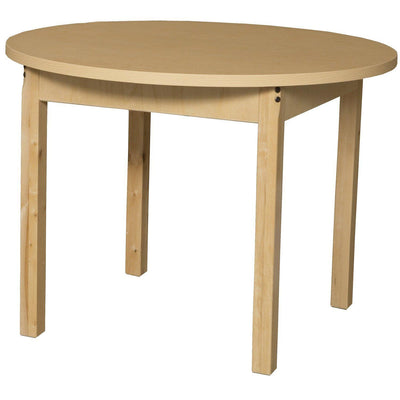 "Wood Designs High Pressure Laminate Activity Tables-Tables-36"" Round-26"" Fixed-"