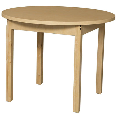 "Wood Designs High Pressure Laminate Activity Tables-Tables-36"" Round-29"" Fixed-"