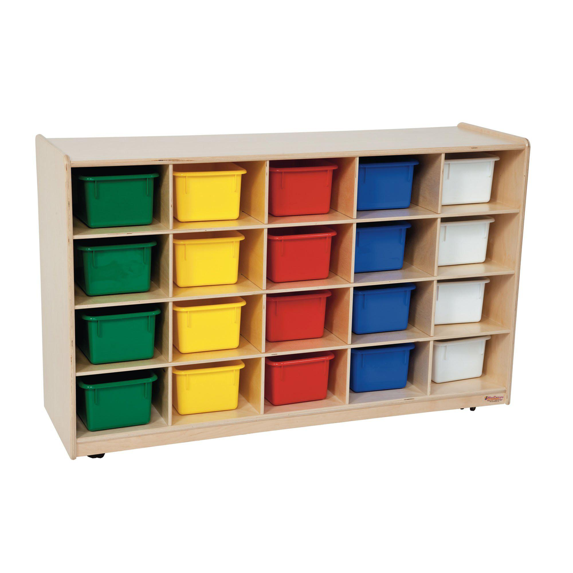 20 Tray Storage with Assorted Trays