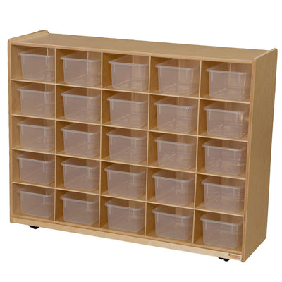 25 Tray Storage with Translucent Trays