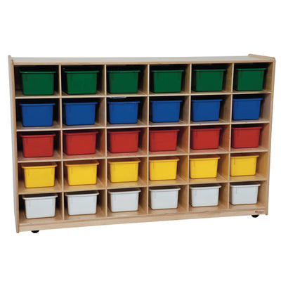 30 Tray Storage with Assorted Trays