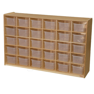 30 Tray Storage with Translucent Trays