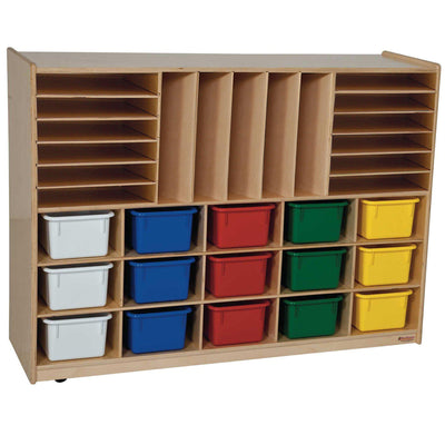 Multi-Storage with (15) Assorted Trays