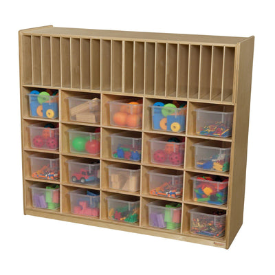 Multi-Storage with 20 Translucent Trays