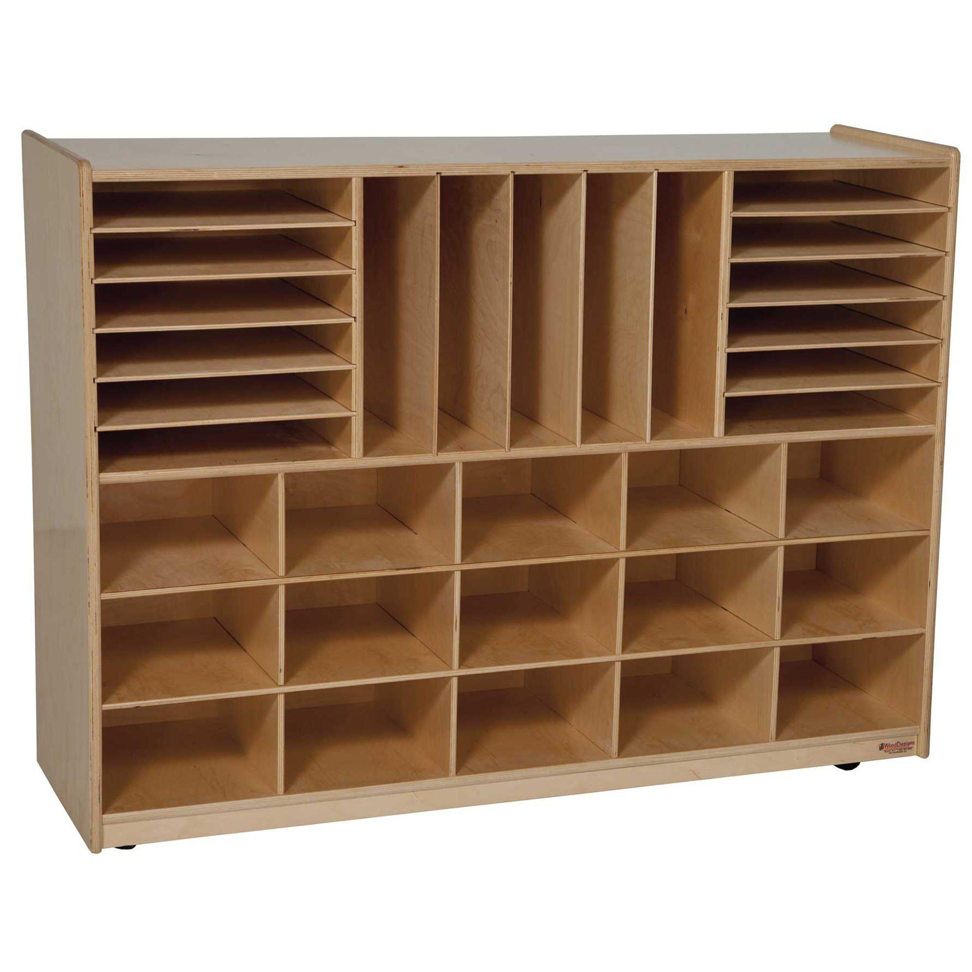 Wood Designs Multi-Storage without Trays