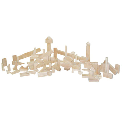 Nursery Blocks - 17 Shapes, 93 Pieces