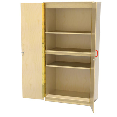 Wood Designs Stationary Classroom Closet-Pre-School Furniture-