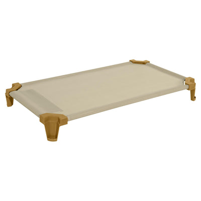 Toddler Cot Single Pack of (1) Factory Assembled- Tan