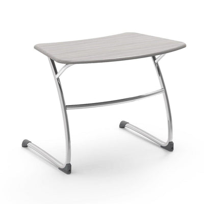 "Zuma Series Student Desks, Hard Plastic Work Surface with Cantilever legs-Desks-25""-Looks Likatre-"