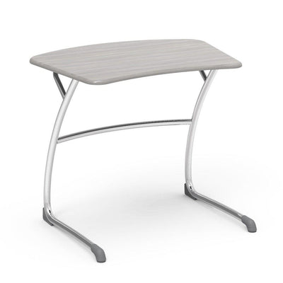 "Zuma Series Student Desks, Hard Plastic Work Surface with Cantilever legs-Desks-27""-Looks Likatre-"