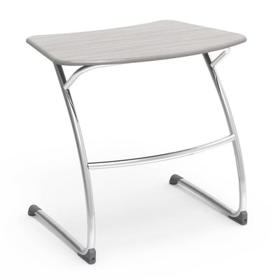 "Zuma Series Student Desks, Hard Plastic Work Surface with Cantilever legs-Desks-29""-Looks Likatre-"