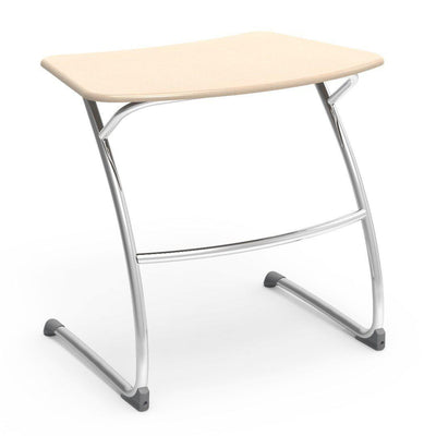 "Zuma Series Student Desks, Hard Plastic Work Surface with Cantilever legs-Desks-29""-Sandstone-"