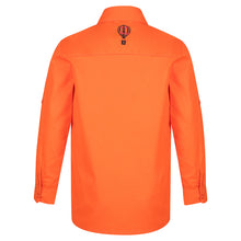 Load image into Gallery viewer, Orange Hi Viz Work Shirt
