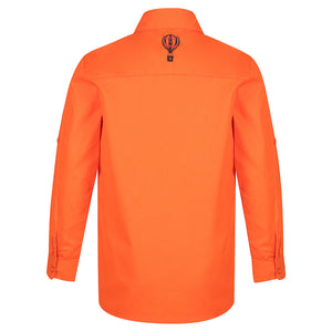 Orange Hi Viz Work Shirt