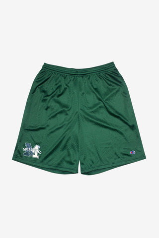 MOANDMO Champion Mesh Shorts / Forest Green
