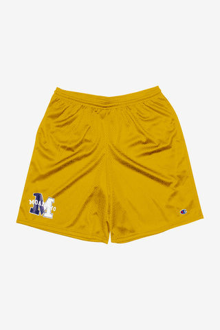 MOANDMO Champion Mesh Shorts / Yellow
