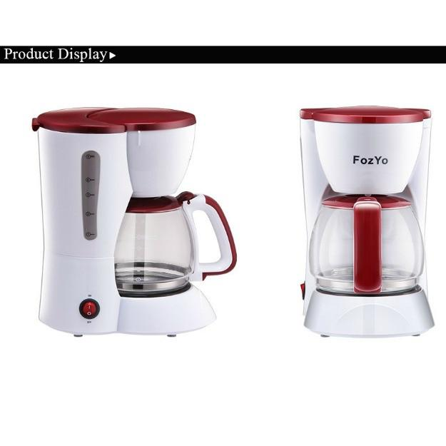Automatic 5 Cups Espresso Electric Coffee Maker