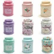 One piece Butterfly Knot  and Line Drawing Style Coffee Storage Tin