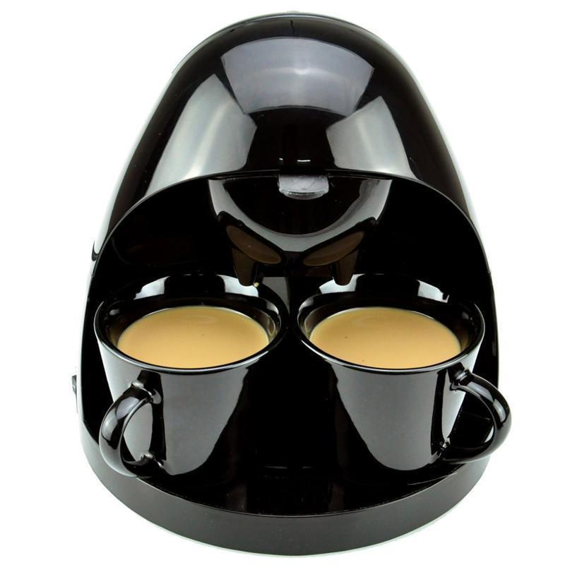 Portable Double Cups Coffee Maker