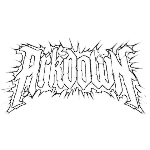 UK metalcore band arkdown art is war records metal music and apparel