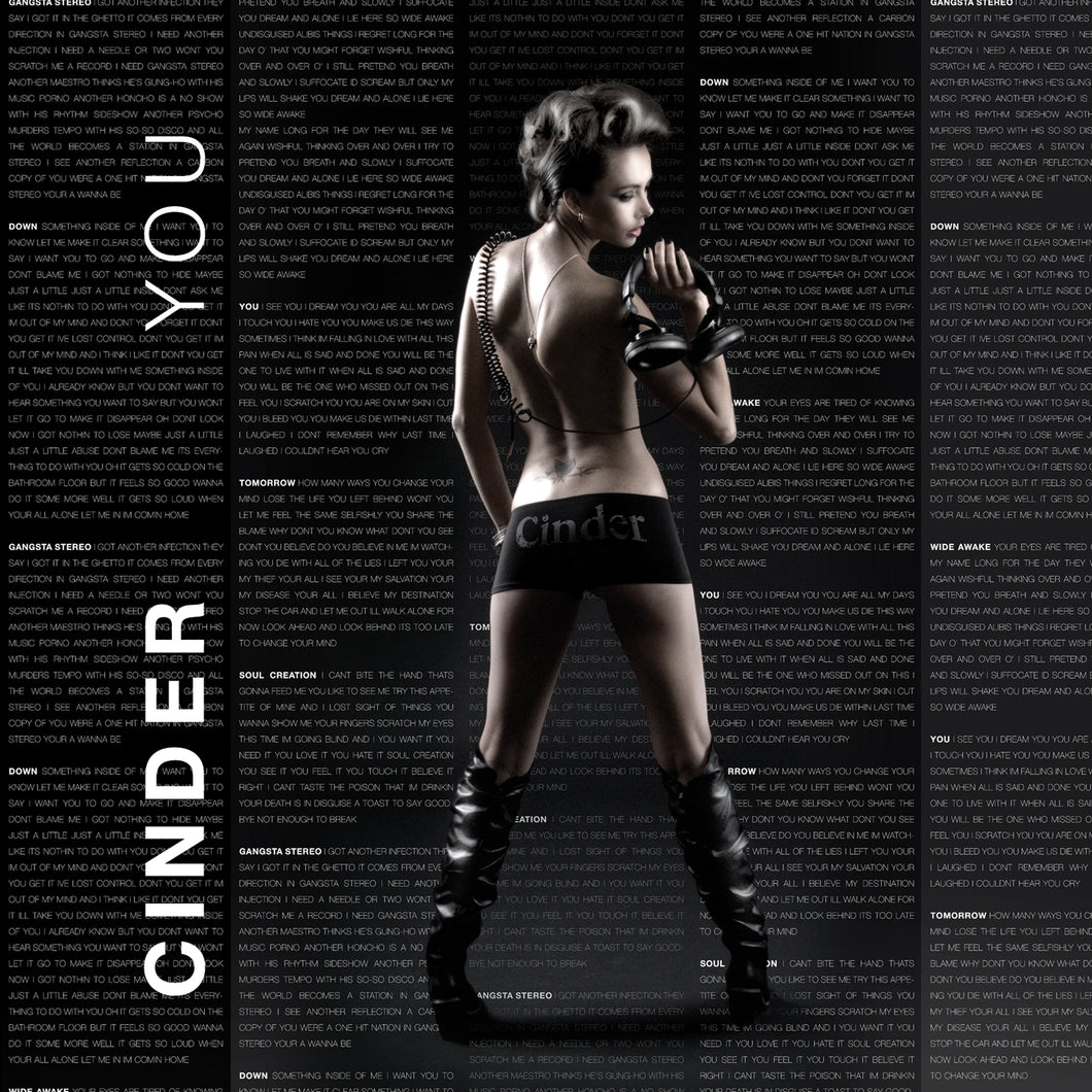 Cinder EP ' YOU ' Compact Disc Physical Copy - AIW Records