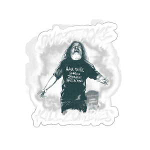 Tom Araya Kill Zombies Stickers