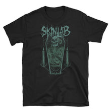 Load image into Gallery viewer, green coffin skinlab mens shirt art is war
