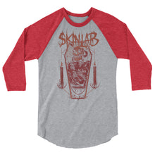 Load image into Gallery viewer, grey and red skinlab mettalhammer style jersey shirt