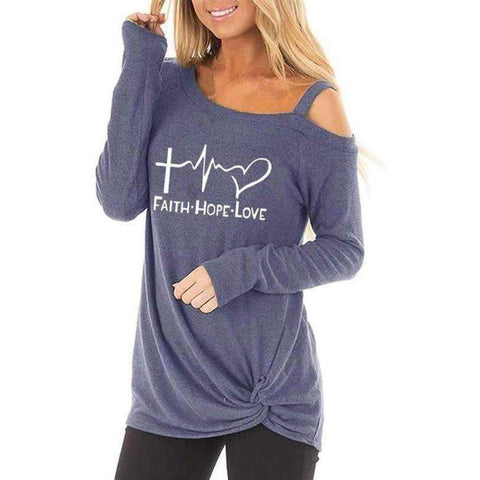 2019 Faith Hope Love Spring Top