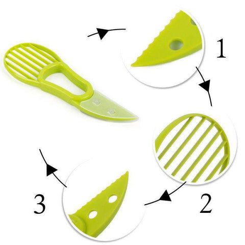 DAZE 3-In-1 Avocado Slicer