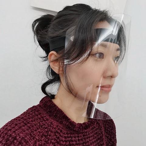 Image of Transparent Face Shields