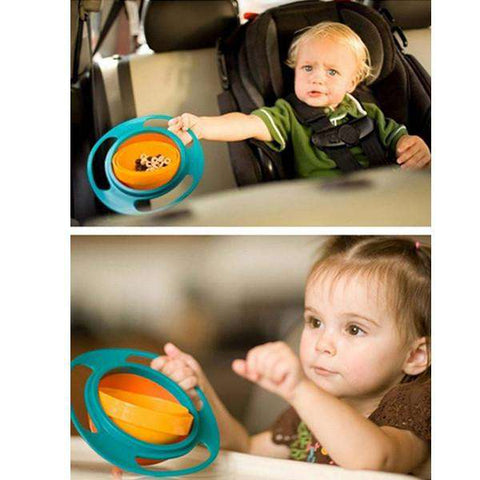 Baby Gyro Feeding Bowl