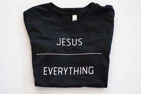 JESUS OVER EVERYTHING T-Shirt Ladies