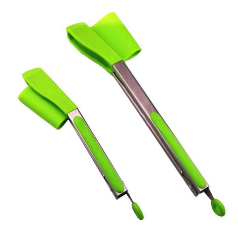 Image of Clever Tongs 2-in-1 Kitchen Spatula & Tongs