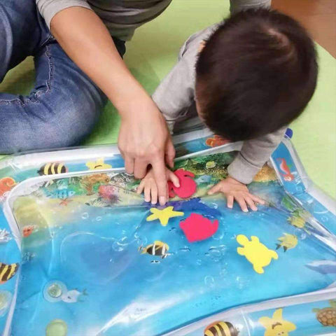 Image of Tummy Time Inflatable Crawling  Mat